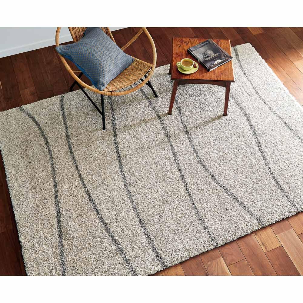 カーテン 敷物 ソファカバー カーペット ラグ マット 約160×230cm(Noa/ノア ウィルトン織ラグ) H80210
