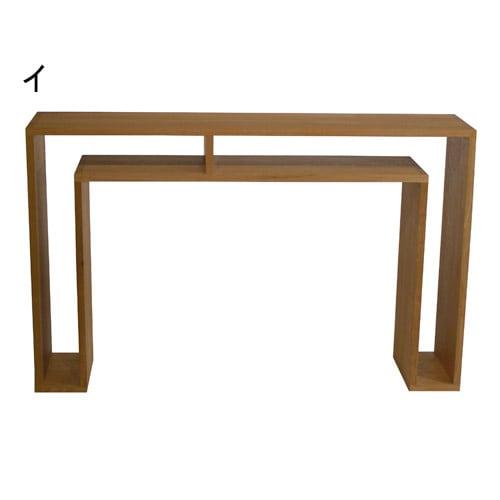 SHOJI/ショージ オケージョナルテーブル 幅116cm高さ72cm リビングテーブル/サイドテーブル[abode・アボード/デザイン:ウー・バホリヨディン] ナチュラル