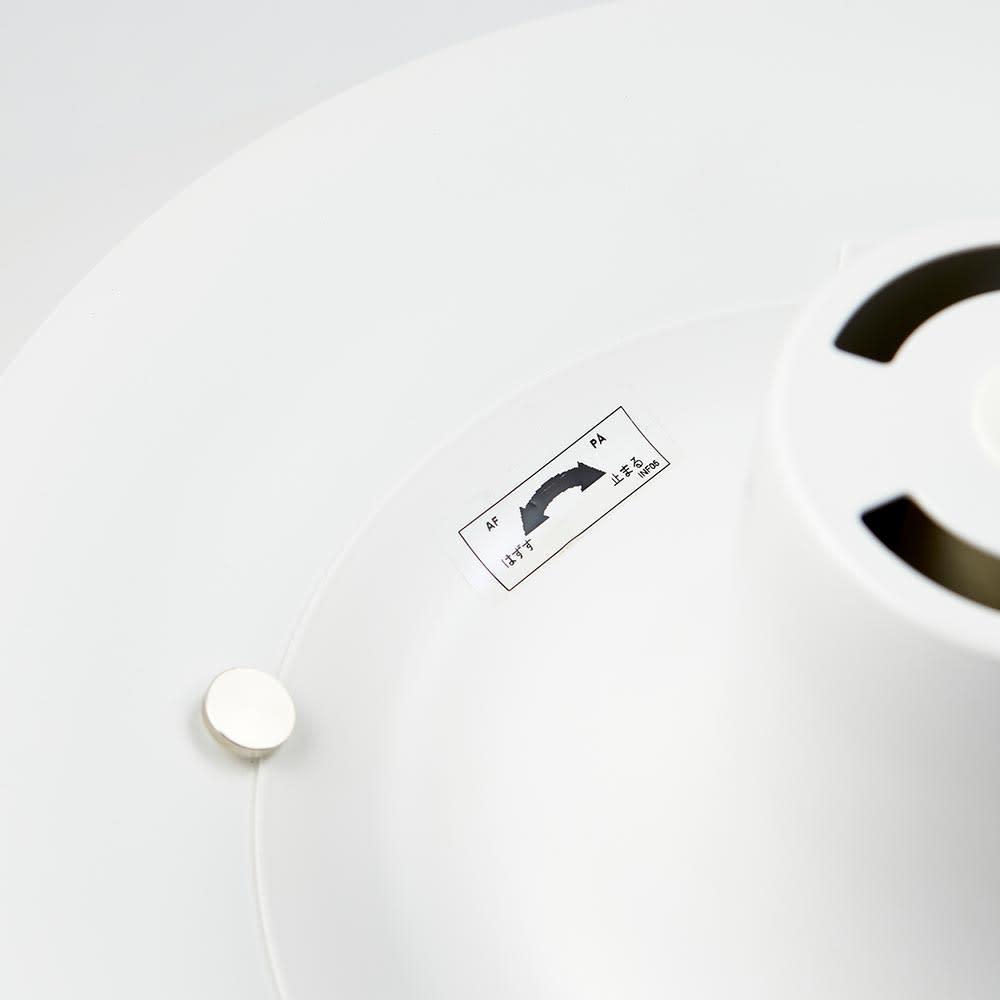 ペンダントライト PH 5 [Louis Poulsen・ルイスポールセン/デザイン:ポール・ヘニングセン] 上部を回転させて取り外す場合は回す向きにご注意ください。