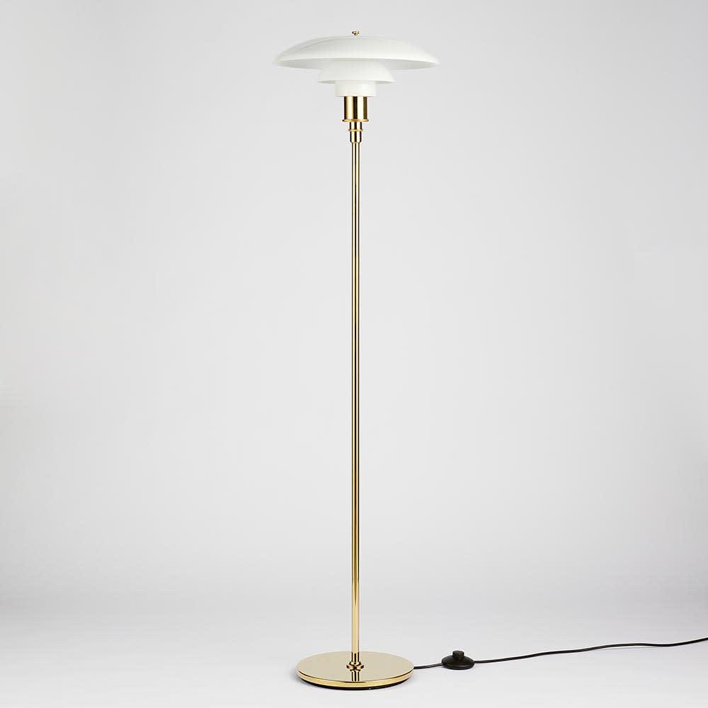 フロアライト PH 3 1/2-2 1/2[Louis Poulsen・ルイスポールセン/デザイン:ポール・ヘニングセン] 消灯状態