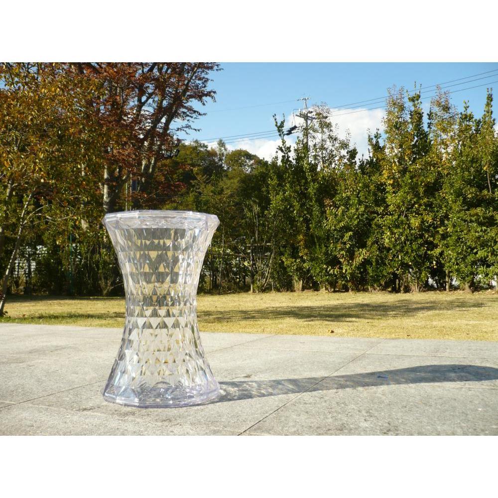 Stone/ストーン スツール [Kartell・カルテル/デザイン:マルセル・ワンダース] 樹脂製で屋外でもご使用いただけます。
