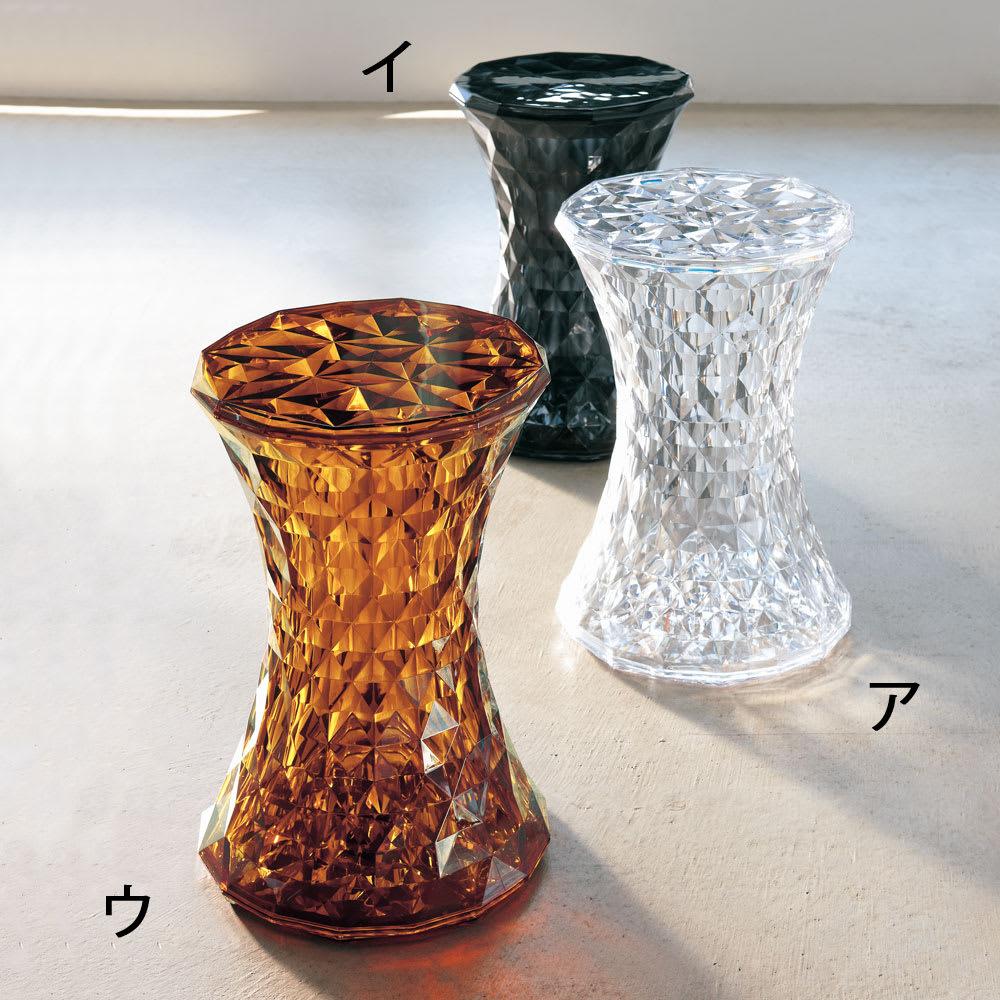 Stone/ストーン スツール [Kartell・カルテル/デザイン:マルセル・ワンダース] 軽くて移動も簡単なので、色違いでそろえてのご使用もお勧めです。