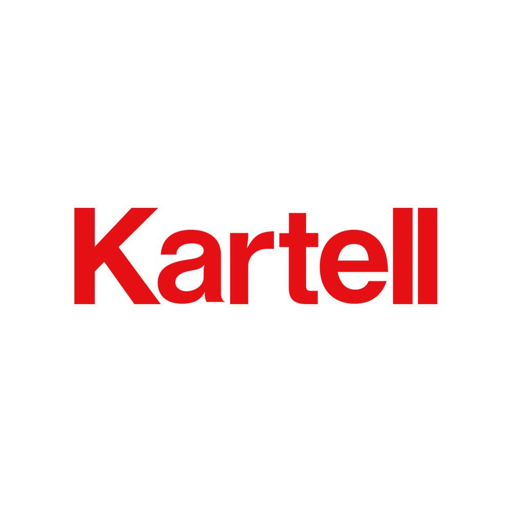 2段・高さ40cm(Componibili/コンポニビリ ストレージ メタル [Kartell・カルテル/デザイン:アンナ・カステリ・フェリエーリ]) カルテル社は、イタリア最大のプラスチック家具メーカー。巨匠デザイナーとコラボした製品は独創性にあふれ、イタリアデザインの歴史に大きな功績を残しています。