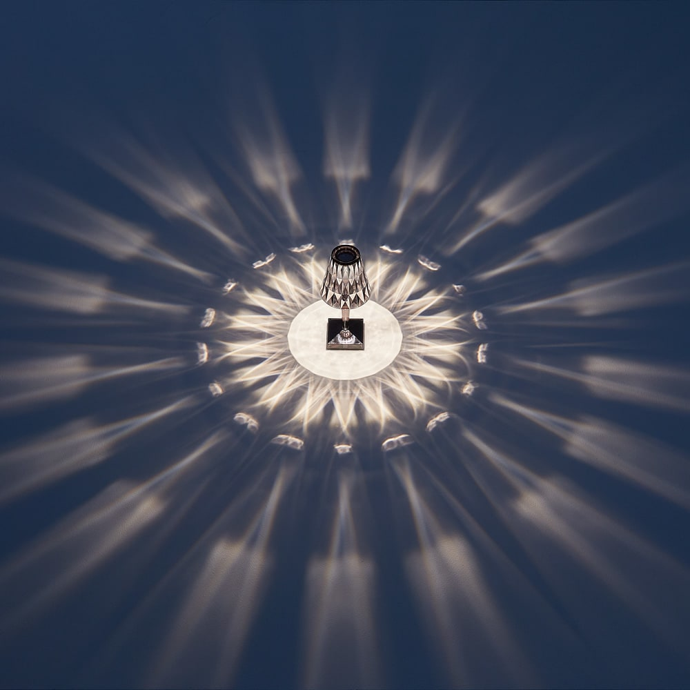 Battery/バッテリー 充電式テーブルランプ・テーブルライト [Kartell・カルテル/デザイン:フェルーチェ・ラヴィアーニ] スモーク