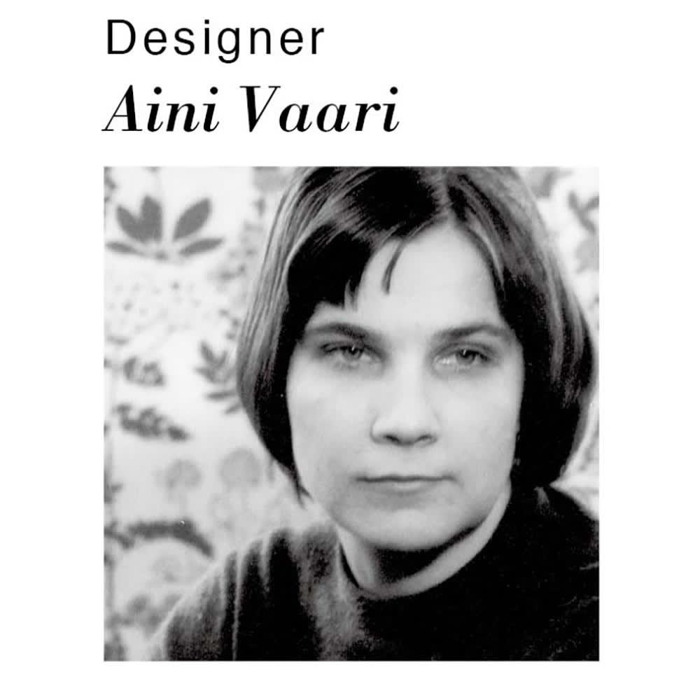 Finlayson OMPPU/フィンレイソン オンップ フック織マット Designer Aini Vaari