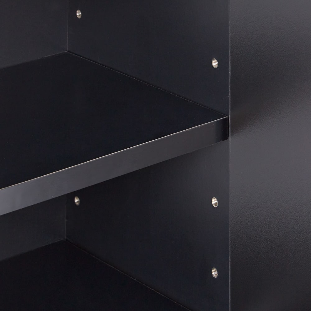 AlusStyle/アルススタイル カウンター下収納庫 3枚扉 幅120cm高さ70cm 棚板は可動式で収納物に合わせて細かく調整が可能です。