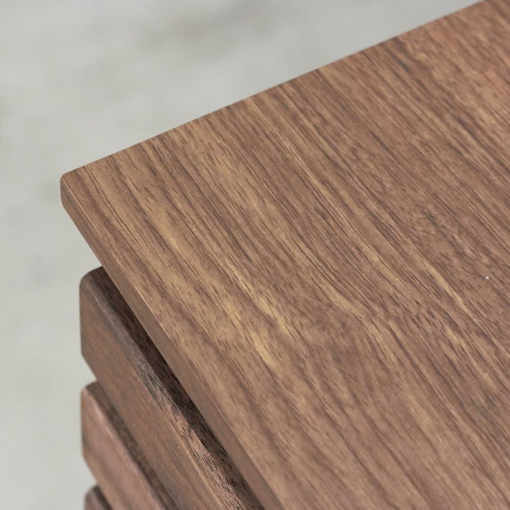 AlusStyle/アルススタイル カウンター下収納庫 4枚扉 幅160cm高さ84.5cm シックな木目と深い色合いのダークブラウンは、大人のキッチンインテリアに。