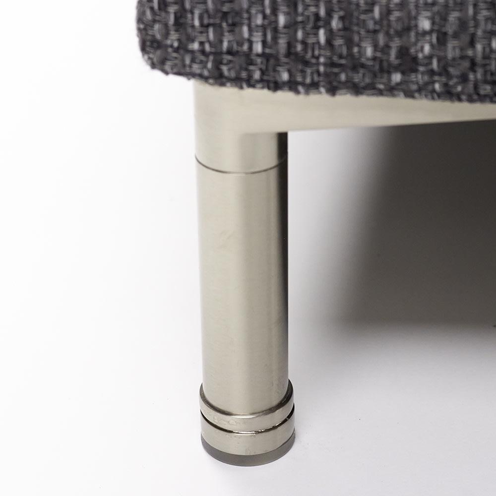 Slimleg(スリムレッグ) カバーリングソファ コーナーソファセット座って左 シャープなスチール脚 ※脚部高さ:約12cm