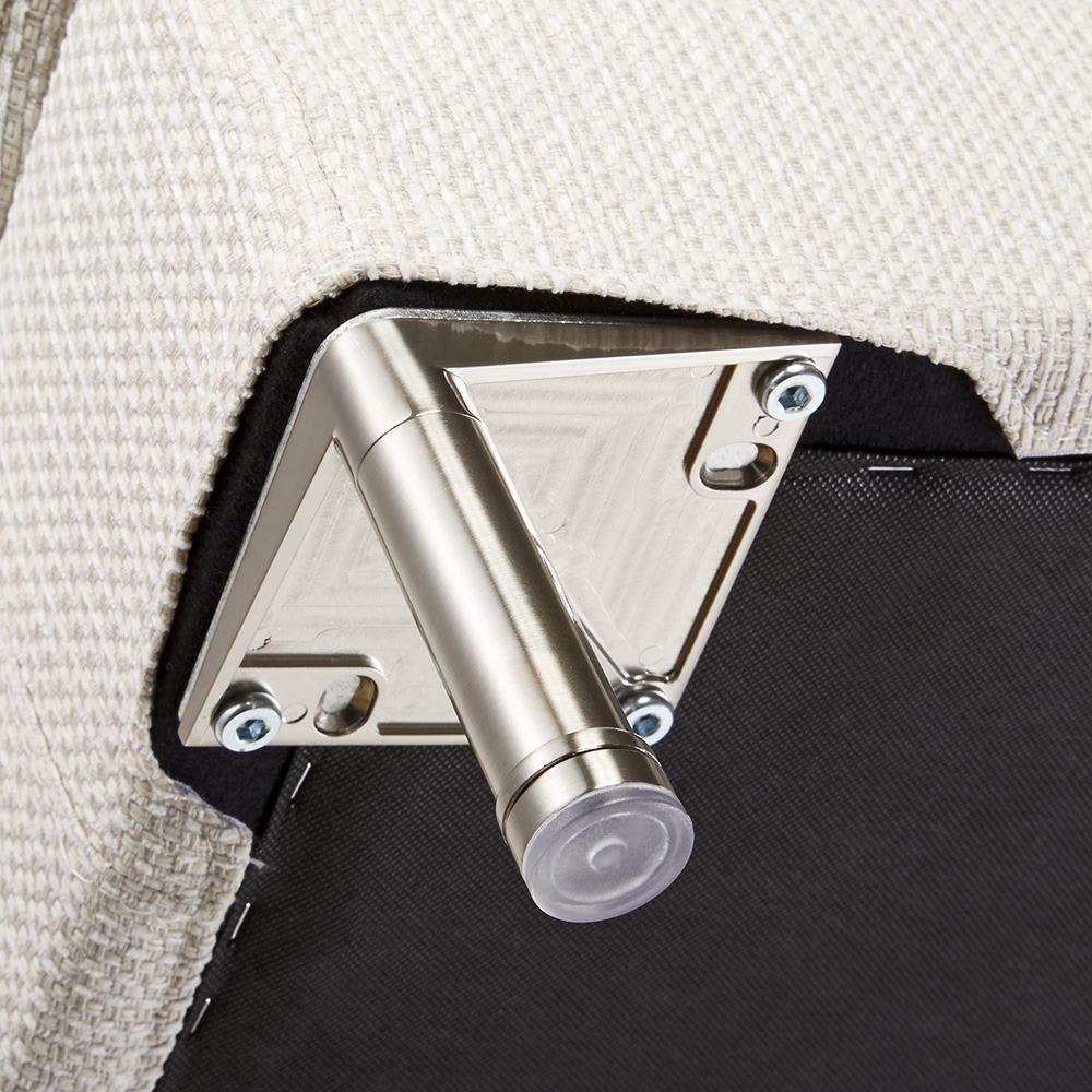 Slimleg(スリムレッグ)  カバーリングソファ コーナーソファセット座って右 床接地面には床にキズがつきにくいように配慮が施されています。
