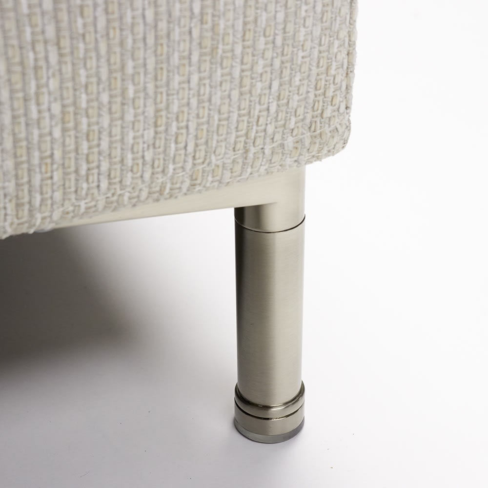 Slimleg(スリムレッグ)  カバーリングソファ コーナーソファセット座って右 シャープなスチール脚 ※脚部高さ:約12cm