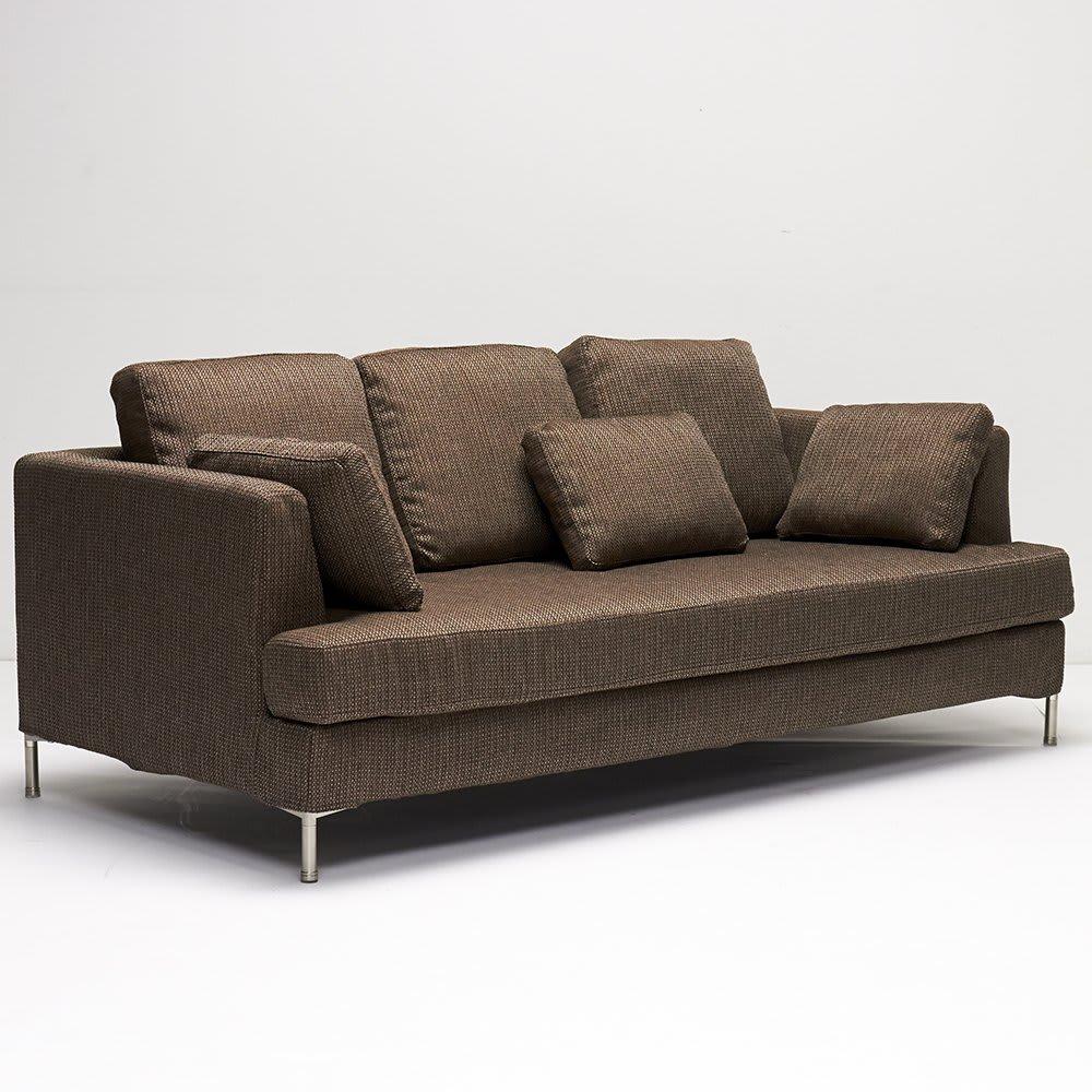 Slimleg(スリムレッグ)  カバーリングソファ トリプルソファ(3人掛け) ※座部幅:160cm