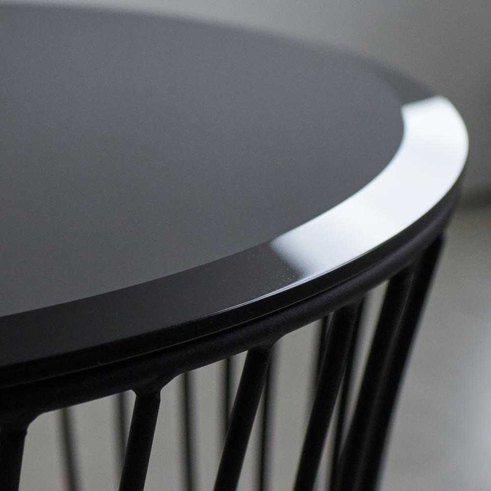 Tumble/タンブル モダンサイドテーブル 天板(表面)