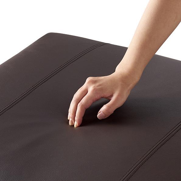 Divanol/ディバノール フロアソファ 右肘 座面クッションはしっかりとした座り心地