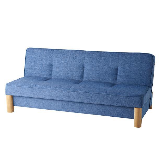 Skrevet/スクレベット 収納付きソファベッド 幅186cm [国産] (イ)ブルー