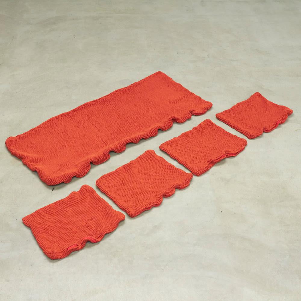 スペイン製 Karup/カーラップ FutonII/フートン ソファベッド専用カバー フトンカバー×1とクッションカバー×4のセット商品です。