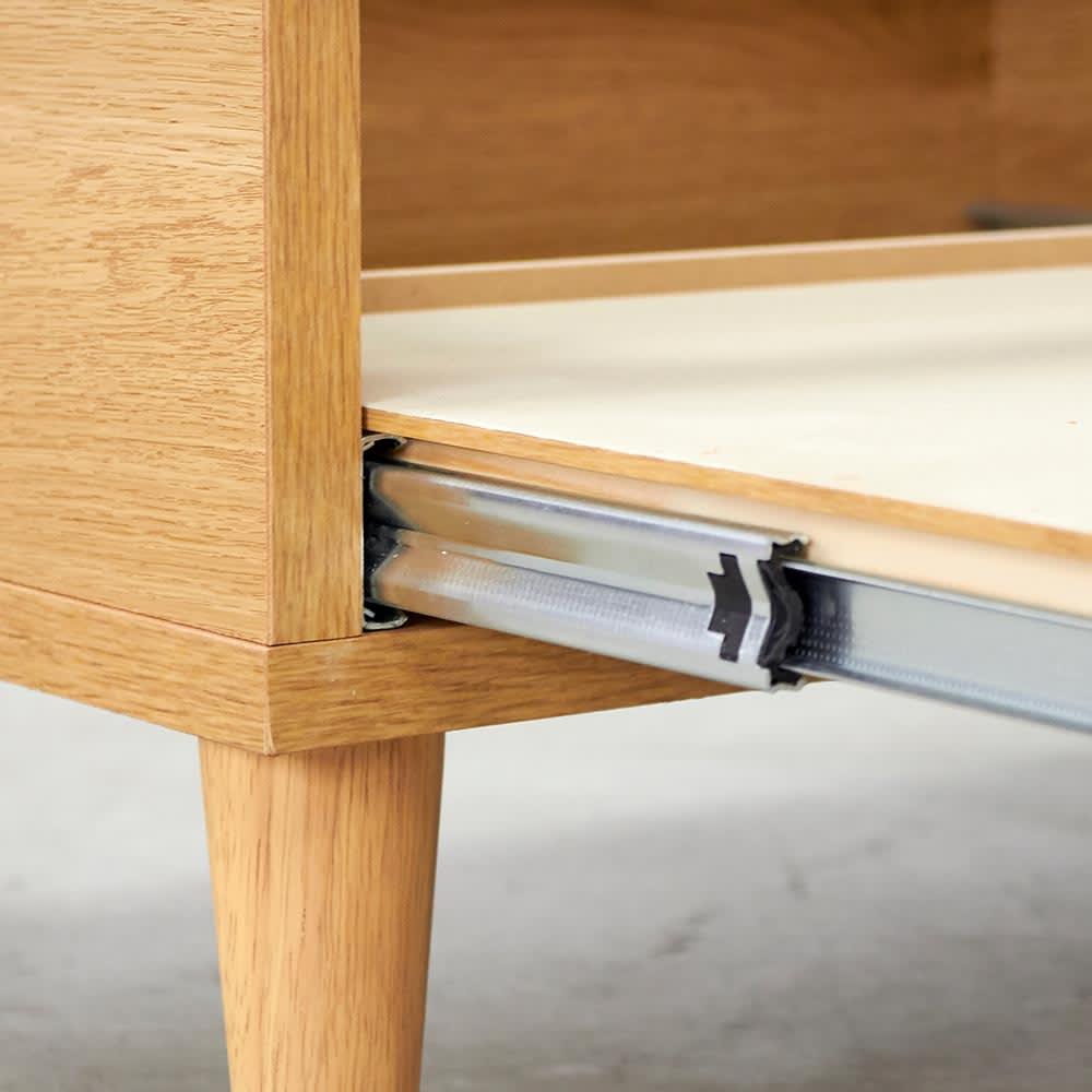 Afeeche/アフィーチェ アクセサリー収納付きローテーブル 幅105cm