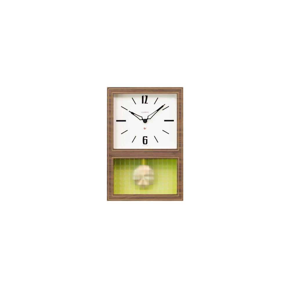 CHAMBRE/シャンブル 振り子時計 (ア)ウォルナット