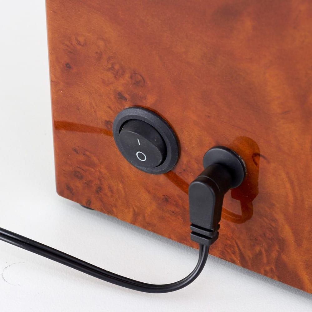 ワインディングマシン 4本用 単1電池2本使用(別売)もしくはACアダプター使用可能
