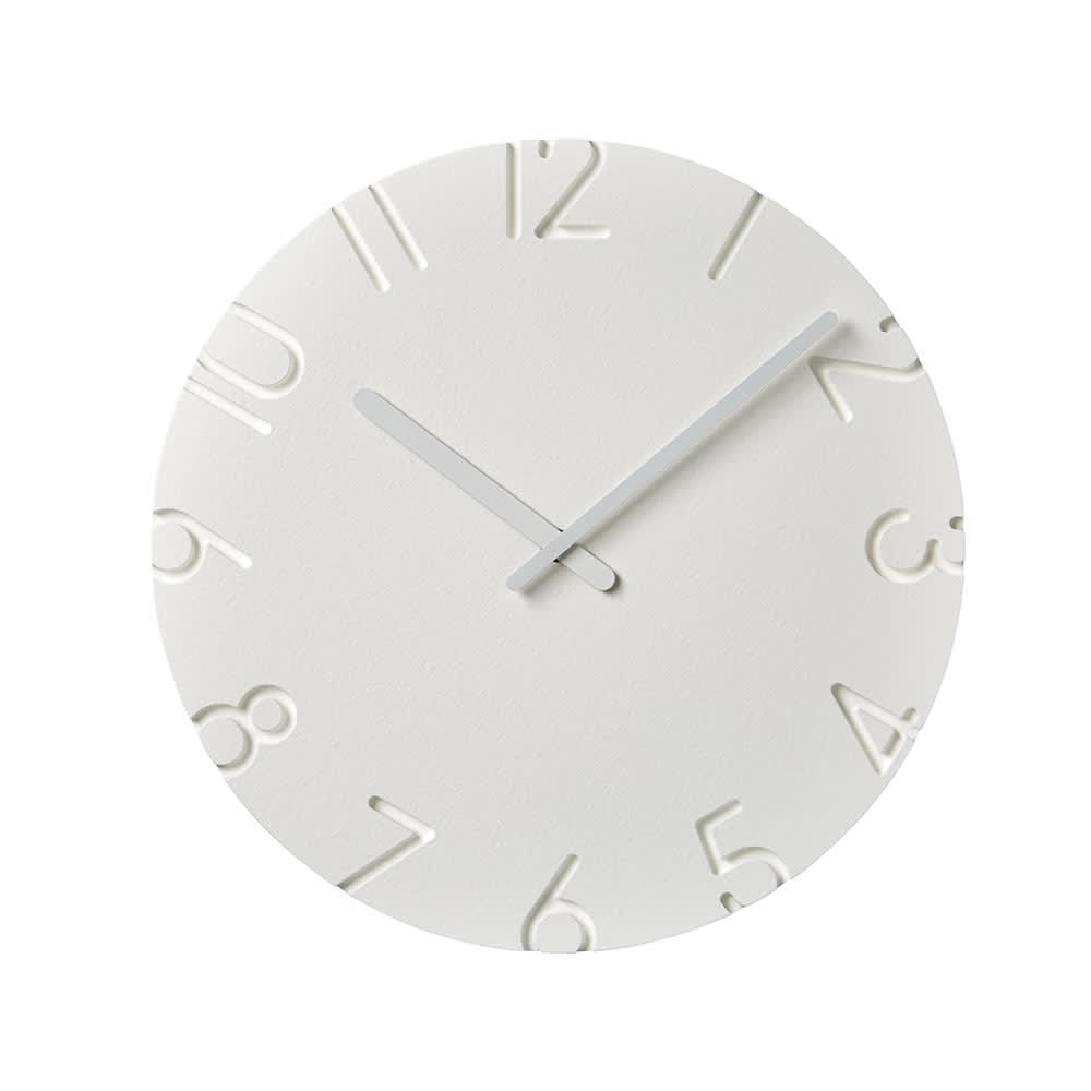 インテリア雑貨 日用品 時計 壁掛け時計 振り子時計 クロック CARVED L 径30.5cm H84202