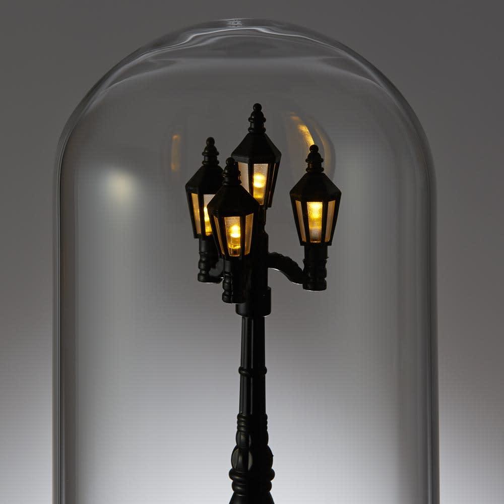 SELETTI/セレッティ マイリトルライト 【弱】灯りは3段階に調光可能。