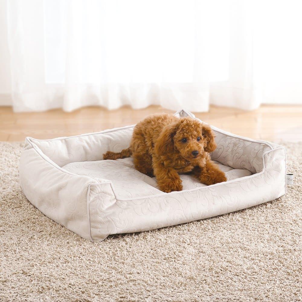 防水仕様のペット用ベッド M