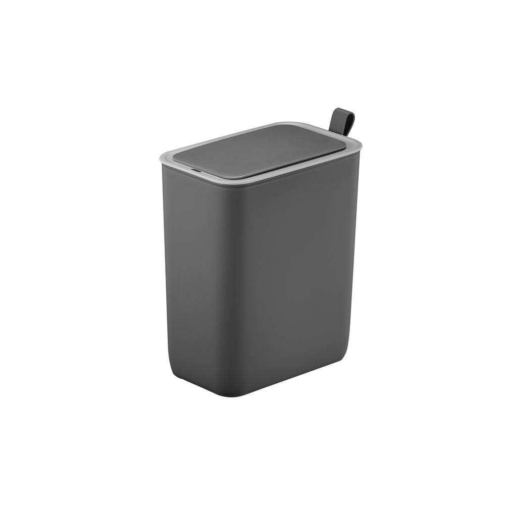 EKO/イーケーオー モランディ センサーゴミ箱 8L (イ)グレー(※実際のカラーは1・2枚目の画像をご参照ください)