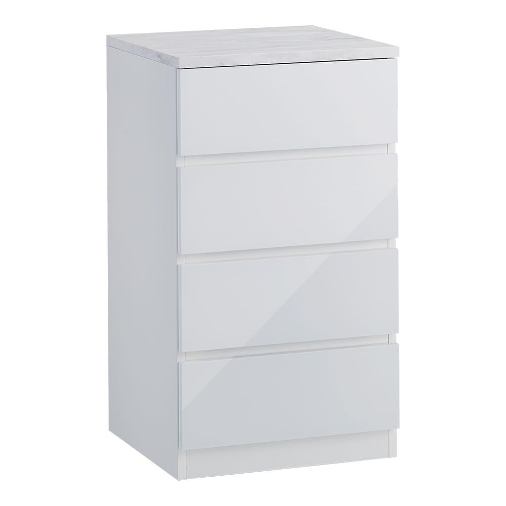 Marblenome/マーブルノーム サニタリーチェスト 幅45奥行45cm (ア)ホワイト