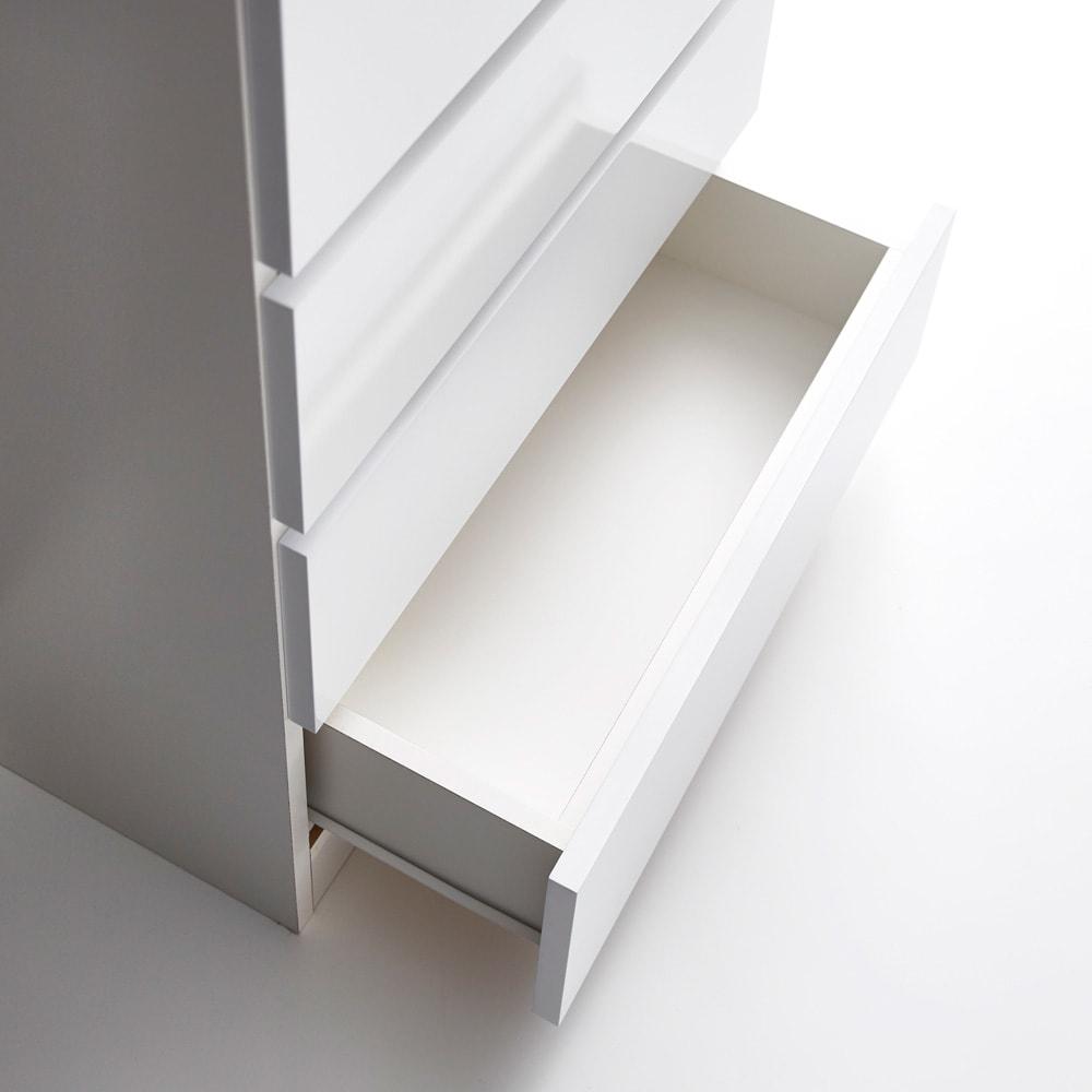 Marblenome/マーブルノーム サニタリーチェスト 幅60奥行45cm 引き出し内部も化粧仕上げで衣類をやさしく収納できます