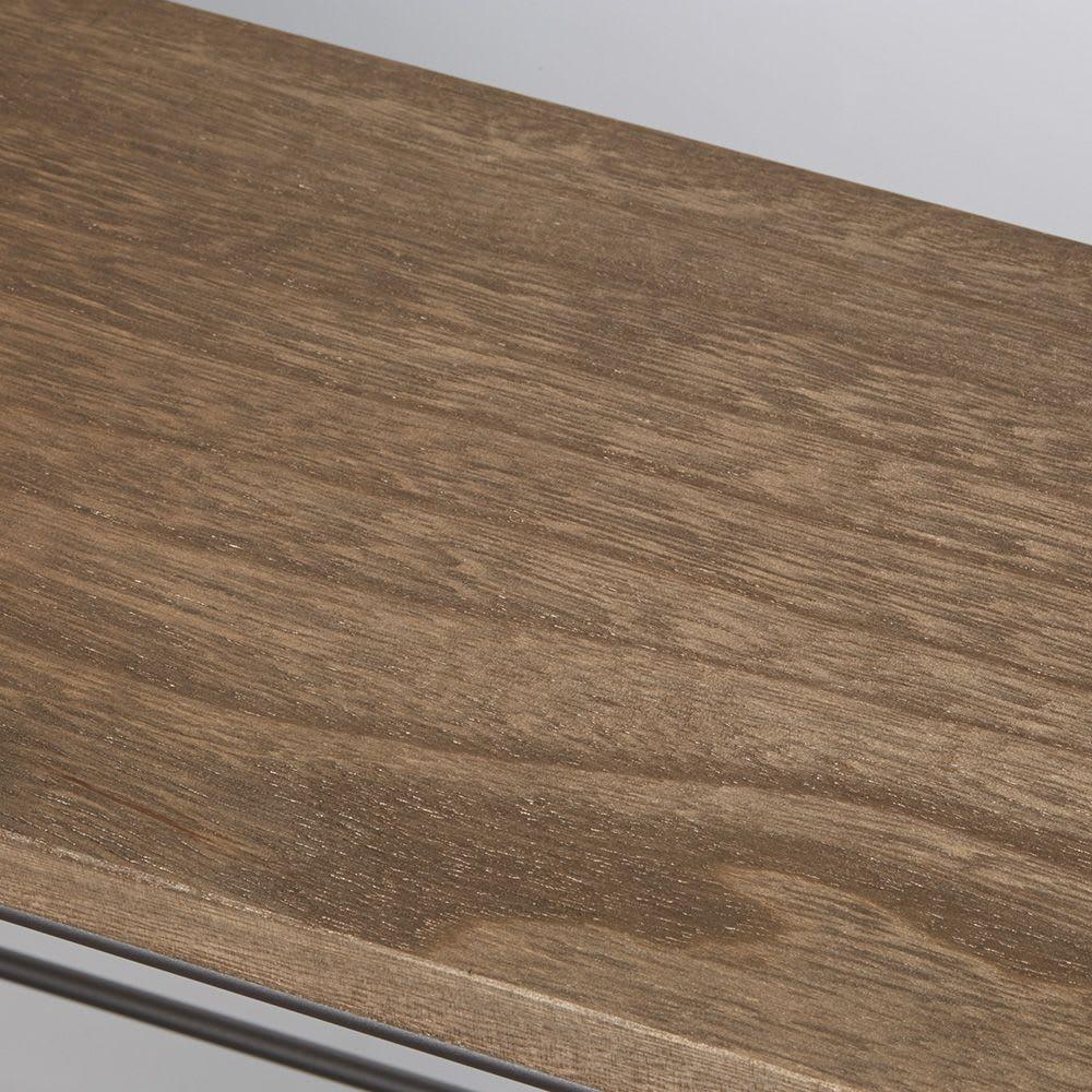 シューズボックス下ワゴン 収納庫 美しい木目が高級感を添えます。