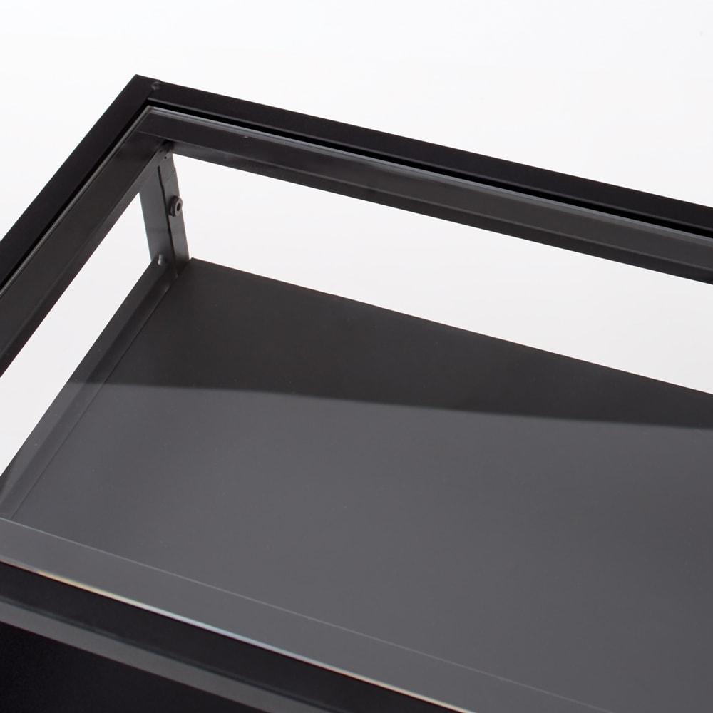 Noisette/ノワゼット アイアンコンソールテーブル 幅90cm高さ73.5cm 透明なアクリル天板