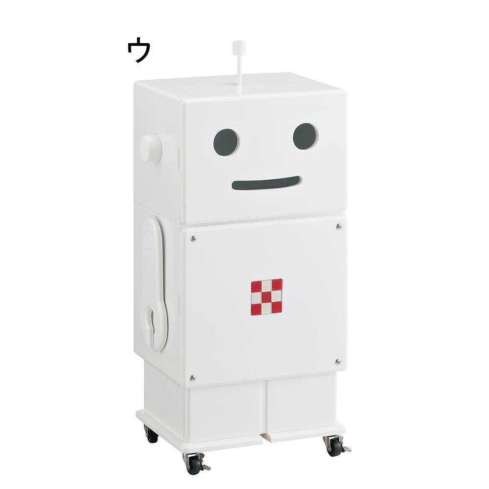 ROBIT/ロビット 収納ロボ[ete・えて ] ホワイト