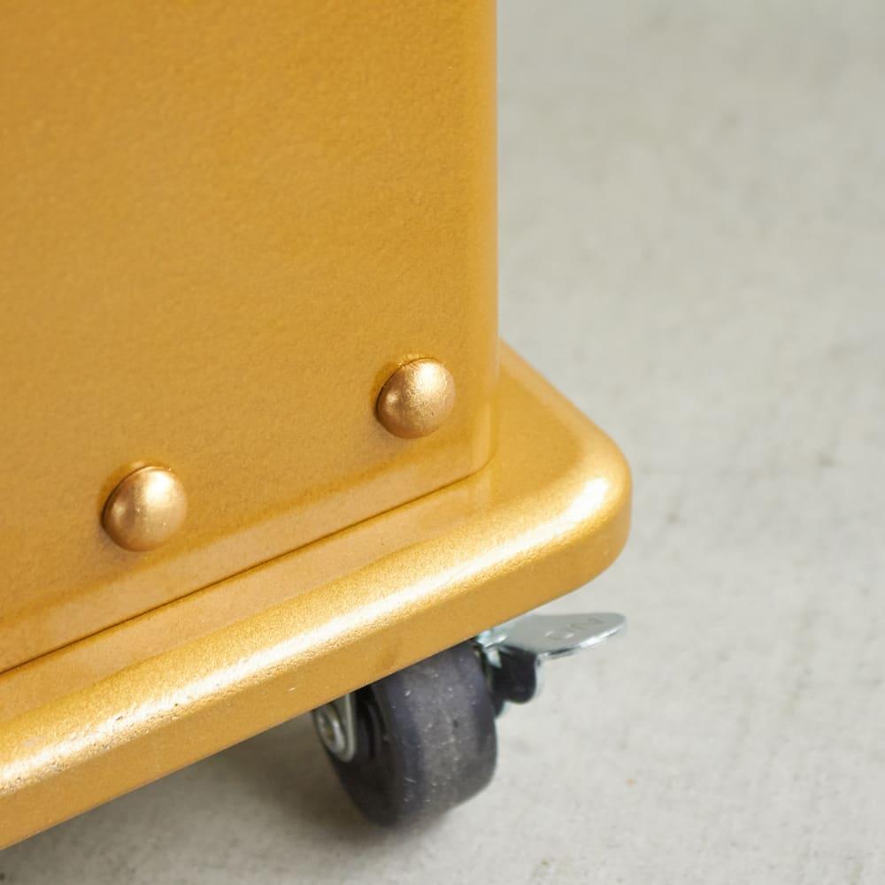 ROBIT/ロビット 収納ロボ 当店限定カラー[ete・えて ] ワンポイントのリベットが重厚感を生み、よりオシャレになりました。