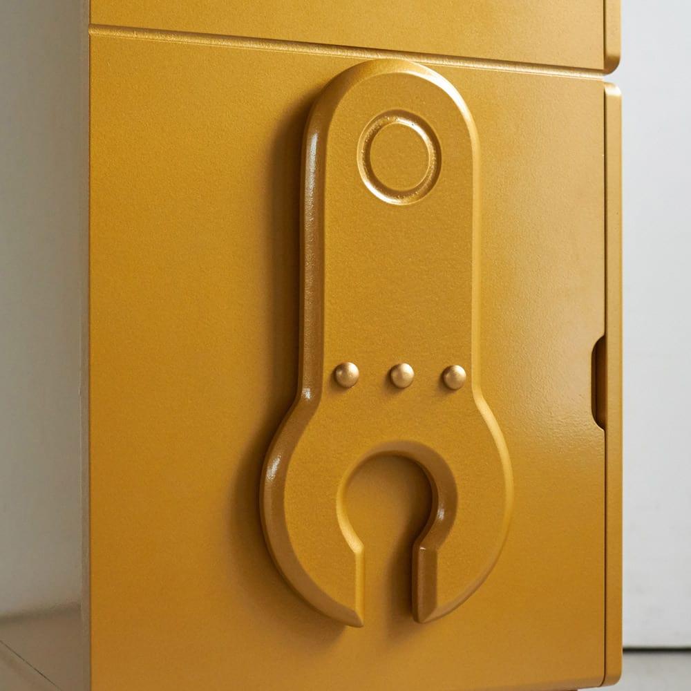 ROBIT/ロビット 収納ロボ 当店限定カラー[ete・えて ] 丸みが優しい精巧な腕。