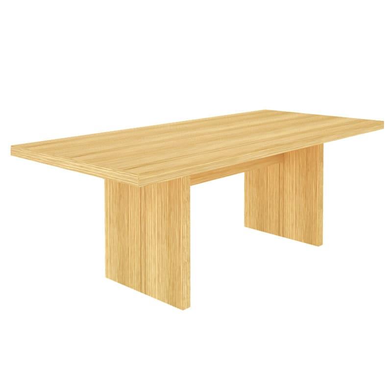Multi マルチダイニングテーブル パネルレッグタイプ 幅160cm 色見本:ナチュラル