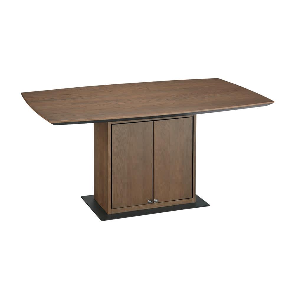 Grigia/グリージア 収納庫付きダイニングテーブル 幅150cm テーブル画像