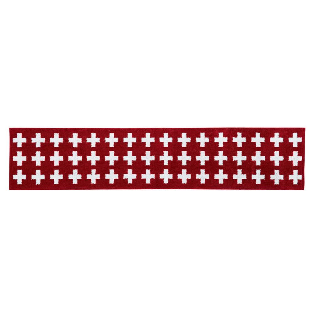 カーテン 敷物 ソファカバー カーペット ラグ マット キッチンマット 約50×180cm(抗菌防臭加工クロスキッチンマット) H86721
