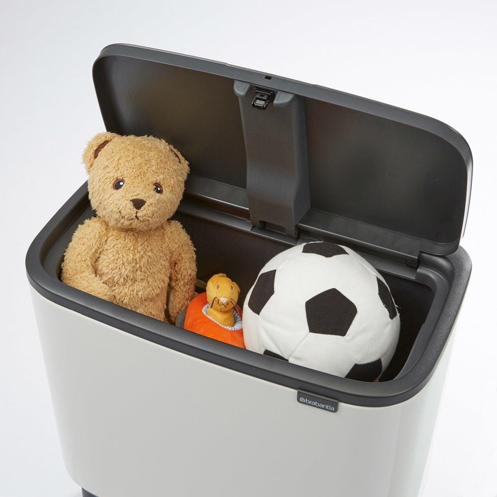 brabantia/ブラバンシア ダストボックス Boタッチビン カラータイプ リビング用のお子様のおもちゃ収納として。