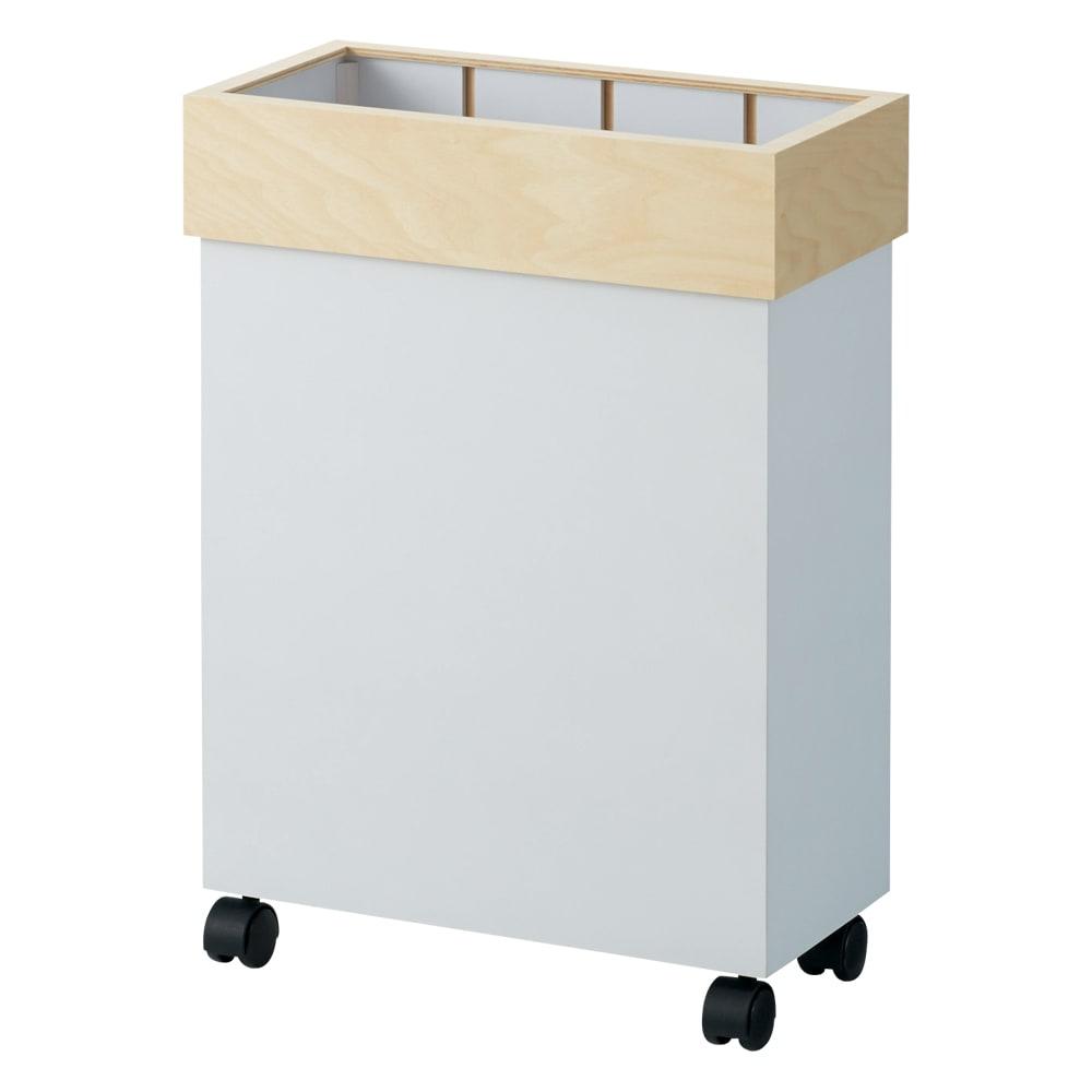 インテリア雑貨 日用品 掃除用品 ゴミ箱 キッチン用ゴミ箱 Hanger/ハンガー キャスター付きダストボックス 45L H86823