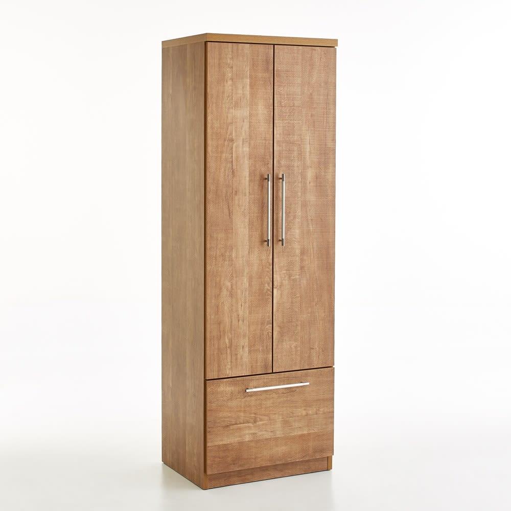 Cretty/クレッティ ナチュラルモダンキッチン収納 ストッカー 幅60高さ180.5奥行45cm (外寸cm)幅60×奥行45×高さ180