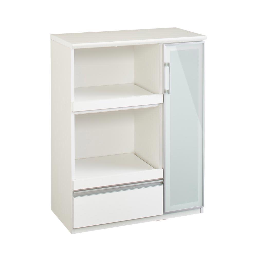 Torerant/トレラント コンパクトレンジカウンター 幅89.5cm・家電収納2段(高さ115cm) ホワイト お届けの商品はこちらです。