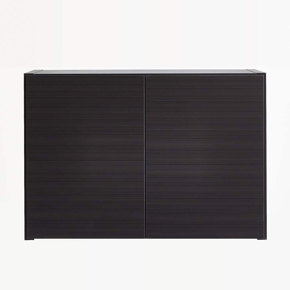 Fareed/ファリド 冷蔵庫上ストッカー 幅65cm ブラックヘアライン