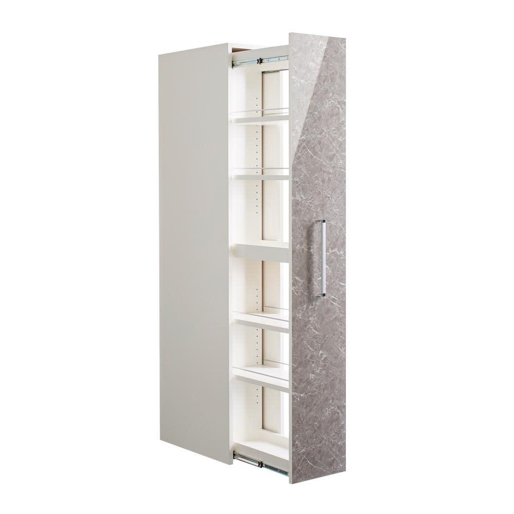 Helmila/ヘルミラ キッチンすき間収納庫(ボックス付き) 幅30cm奥行57cm高さ180cm お届けの商品はこちらです。