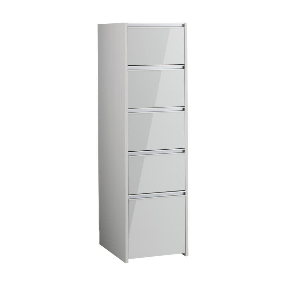 Ymir/ユミル キッチンタワーチェスト収納庫 幅45cm奥行55cm高さ156cm ホワイト お届けの商品はこちらです。