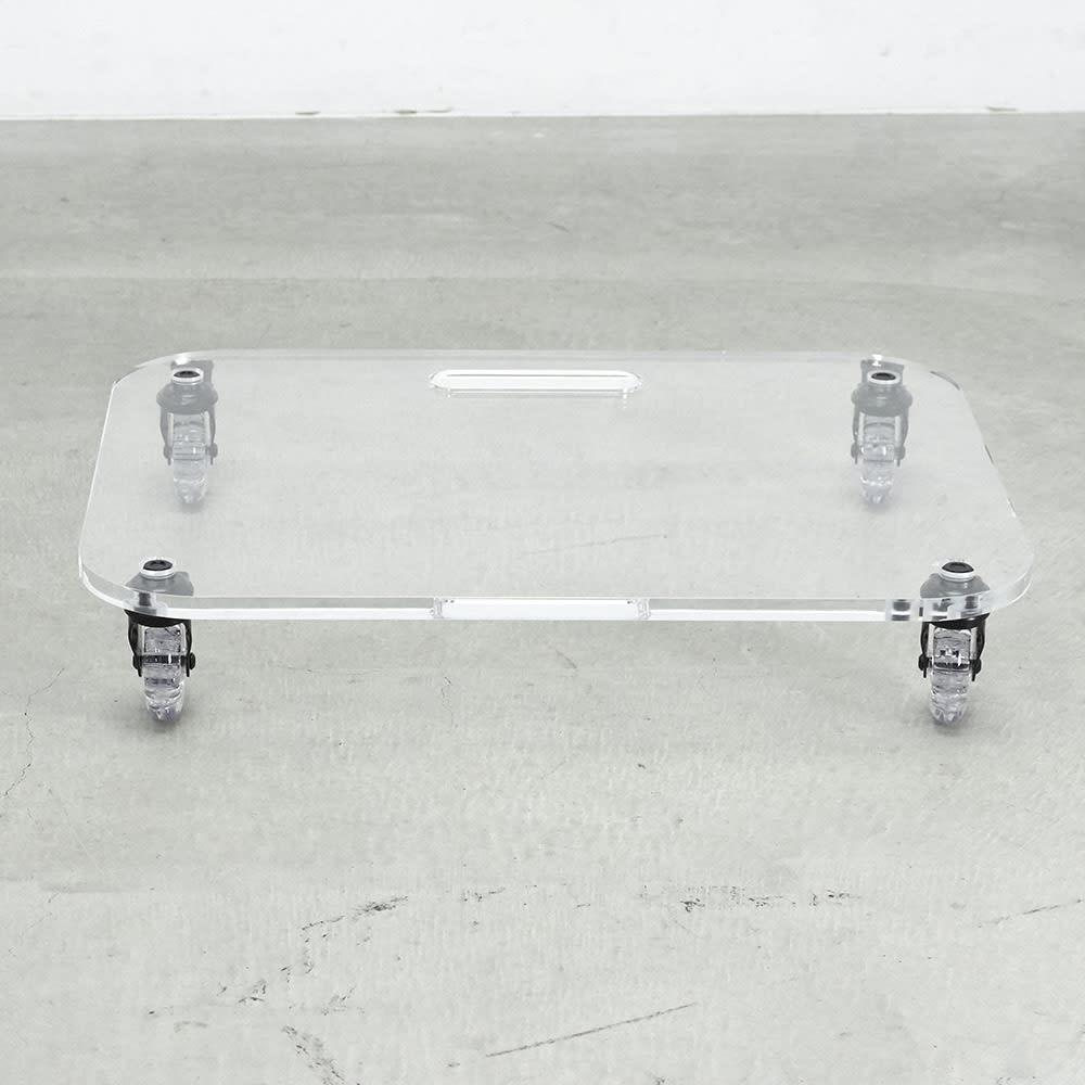 Rollen/ロレン 頑丈アクリル台車 幅58.5cm マルチワゴン
