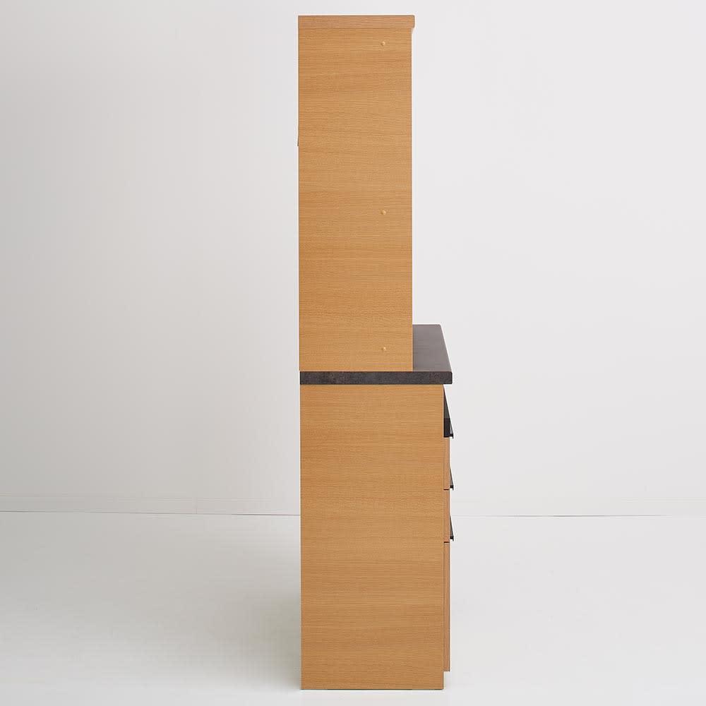 Boulder/ボルダー 石目調天板キッチンシリーズ ボード 幅90cm 奥行45cm 側面