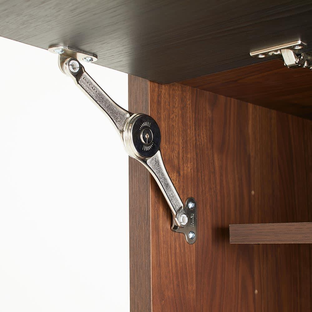 Milovy/ミロヴィ キッチンボード ダストボード 幅66cm フラップ扉式なので片手でサッと開けられます。