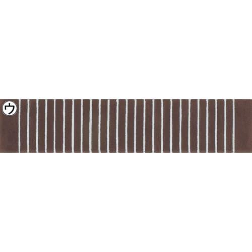 Lines/ラインズ キッチンマット ブラウン系