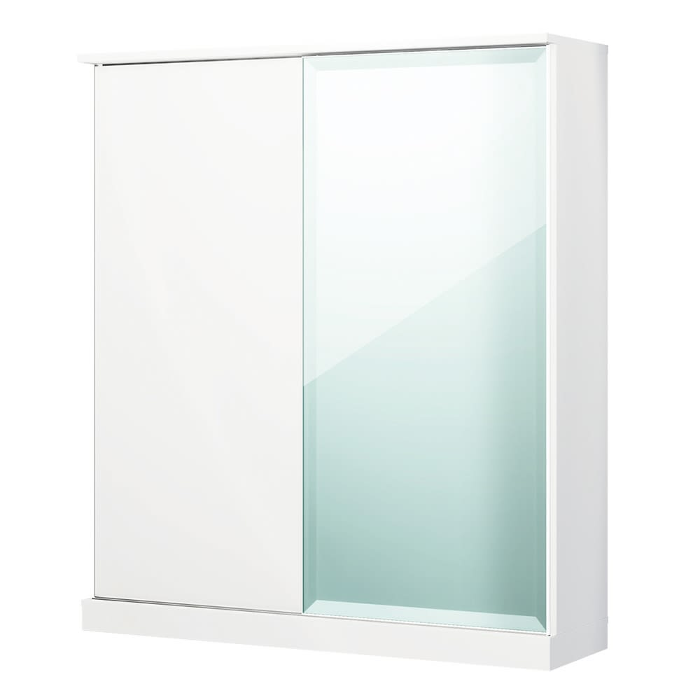 Orga/オルガ スライドキッチン収納 キャビネット 幅160cm (ア)ホワイト