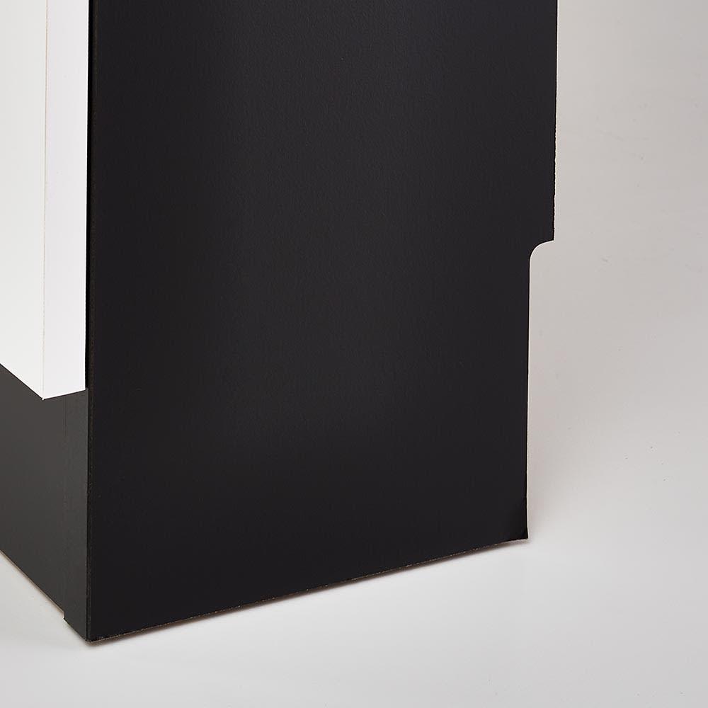 Peili/ペイリ カウンター下収納庫 引き出し幅44cm 奥行20cm 高さ10cm幅1cmの幅木カットを施しているので壁にぴったり設置可能です。