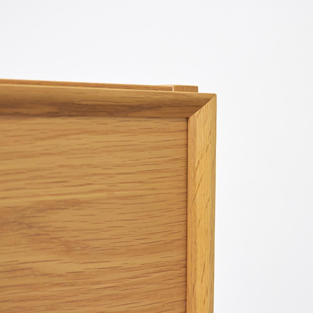 E&W/イーアンドダブリュ 天然木テレビボード テレビボード 幅210.5 明るく爽やかな印象を持ちながら、力強さを感じさせる(イ)オーク材。